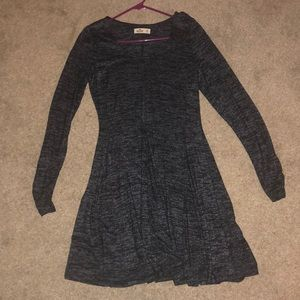 Hollister Long Sleeve Thin Sweater Dress